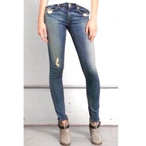Rag and Bone Skinny Jeans in Destroyed